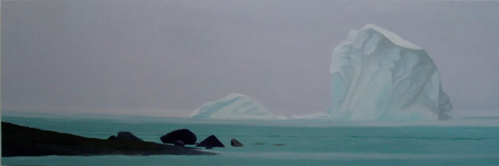 Smaller iceberg paintings